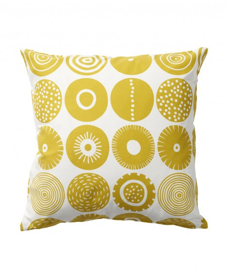 Cushion cover Candy yellow