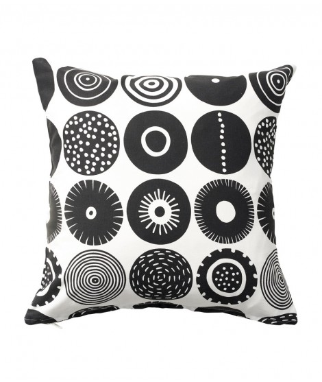 Cushion cover Candy black