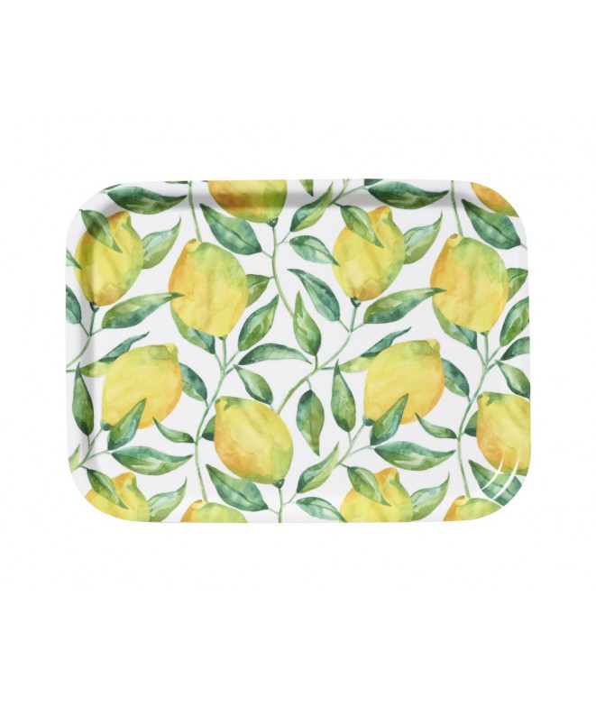 Small square tray Lemon Tree