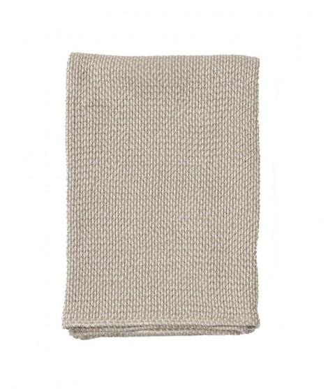 Bavlněná deka Basket beige