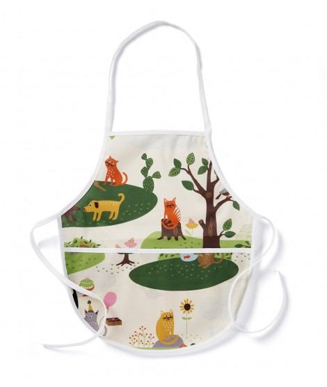Kids apron Cats and Dogs