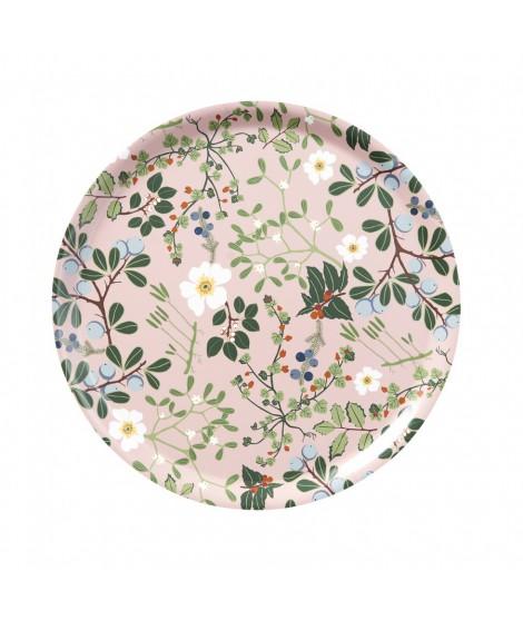 Round tray Blackthorn rose