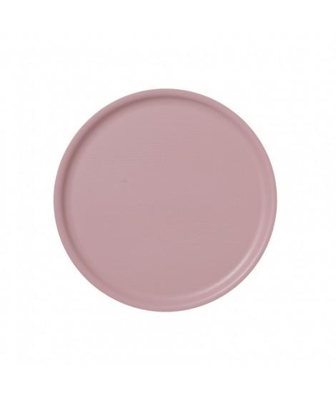 Dřevěný tác B&L Wood Pink d35
