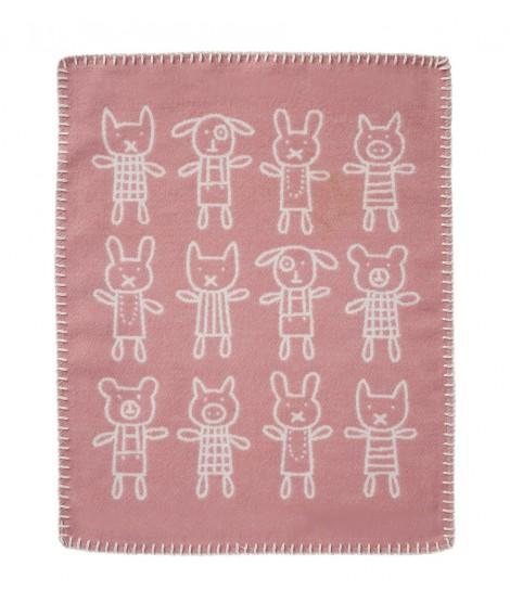 Cuddly blanket Hug pink