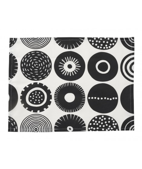 Table mats Candy black