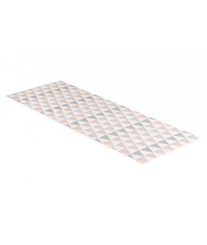 Plastový koberec Tribus grey pink 70x120
