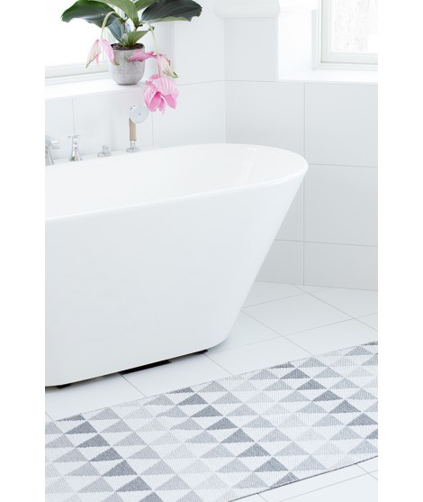 Plastic rug Tribus dust 70x120 bathroom
