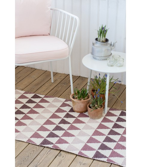Plastic rug Tribus burgundy 70x200 hall