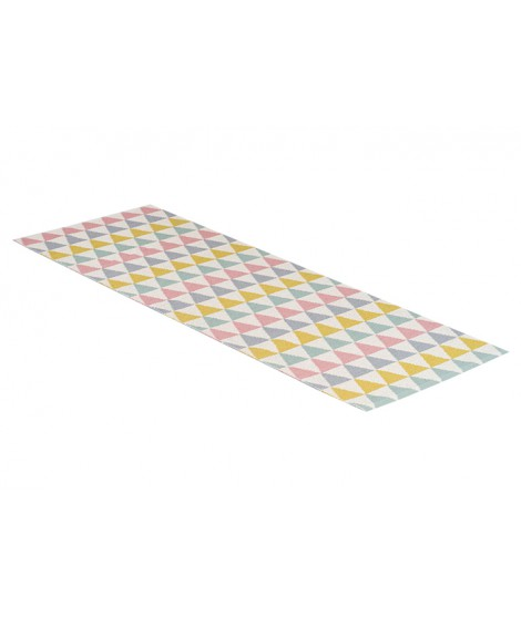 Plastový koberec Tribus multi 70x200