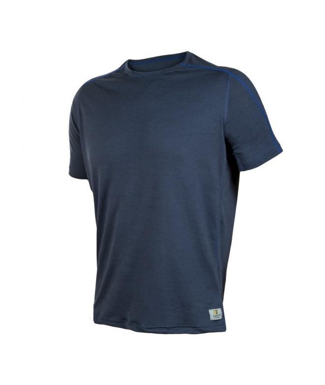 Janus LW merino triko M SS blue