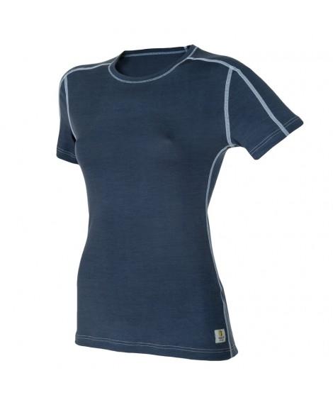Janus LW merino T-shirt W SS blue