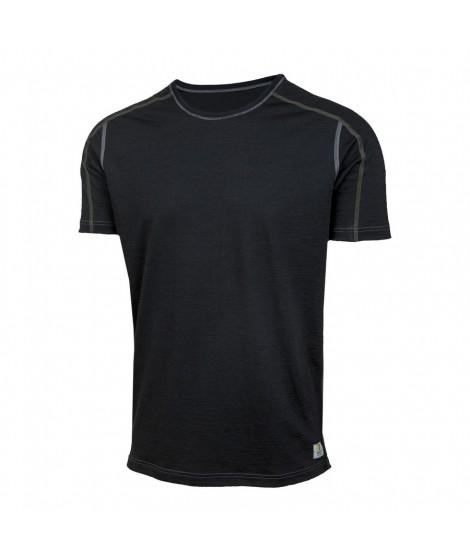 Janus LW merino T-shirt M SS black