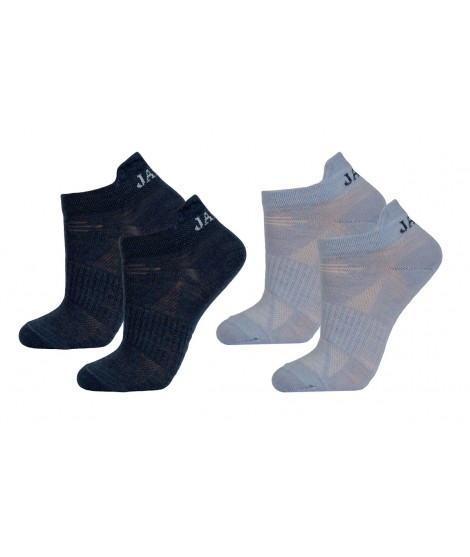Janus kids merino socks LW Blue 2-pack