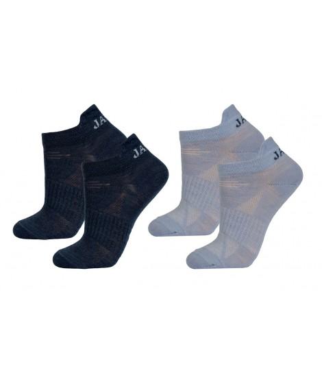 Janus kids merino socks LW Blue 2-pack