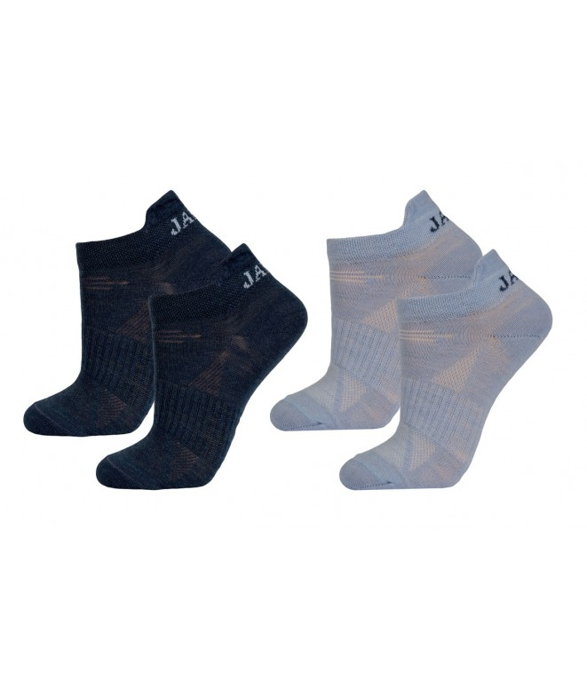 Janus dětské merino ponožky LW Blue 2-pack