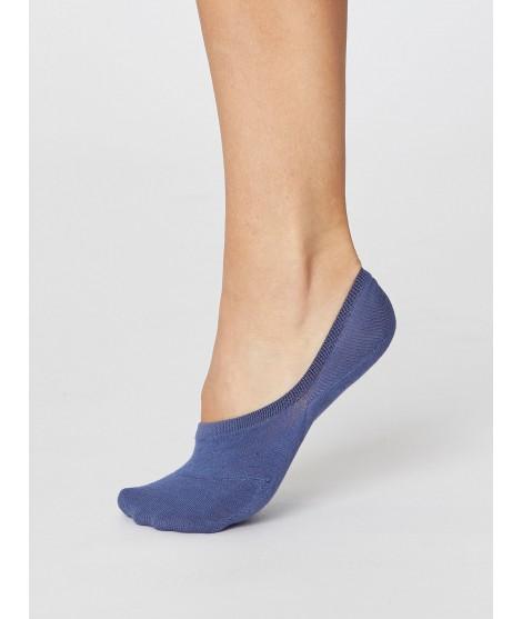 No show Woman Blue  nízké ponožky
