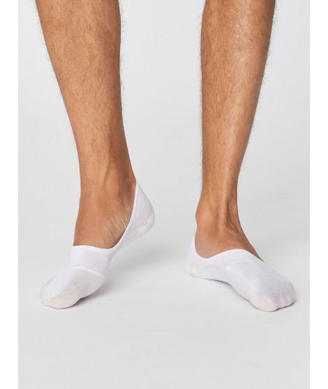 No show Man White bambusové ponožky nízké