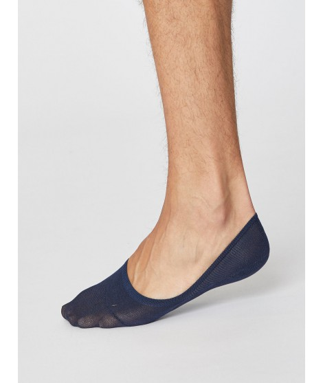 No show Man Navy nízké ponožky