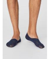No show Man Navy bambusové ponožky nízké