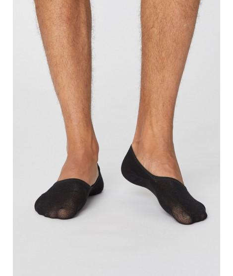 No show Man Black bambusové ponožky nízké