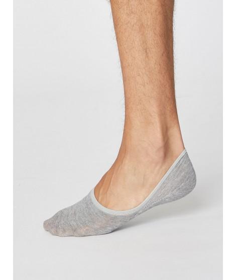 No show Man Grey nízké ponožky