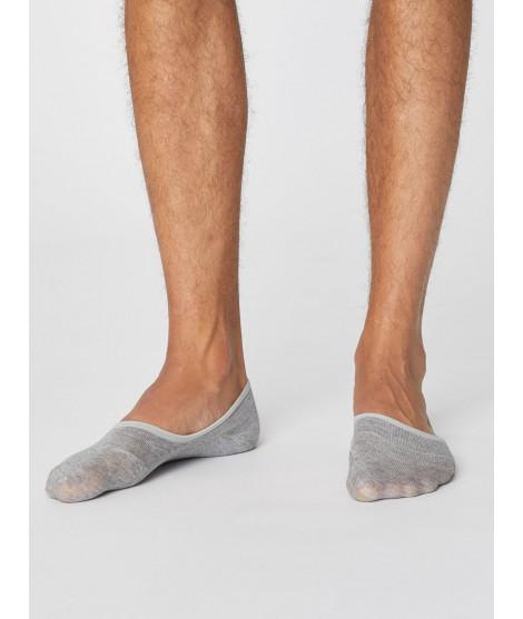 No show Man Grey bambusové ponožky nízké
