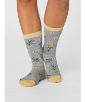 Bambusové ponožky Pineapple grey