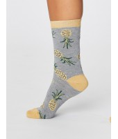Bambusové ponožky Pineapple grey one