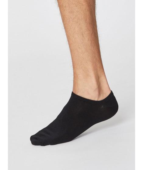 Ashley Trainer Black 40-46 pánské kotníkové ponožky one