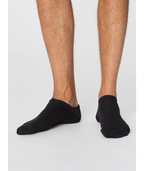 Ashley Trainer Black 40-46 pánské kotníkové ponožky