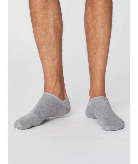 Ashley Trainer Grey 40-46 pánské kotníkové ponožky