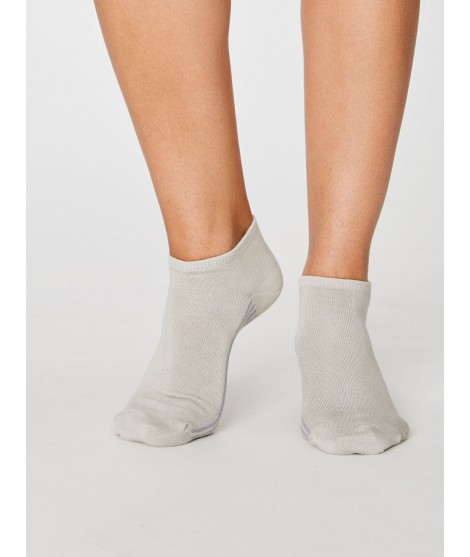 Jane Trainer Sand 37-40 bamboo socks
