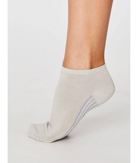 Jane Trainer Sand 37-40 dámské kotníkové ponožky