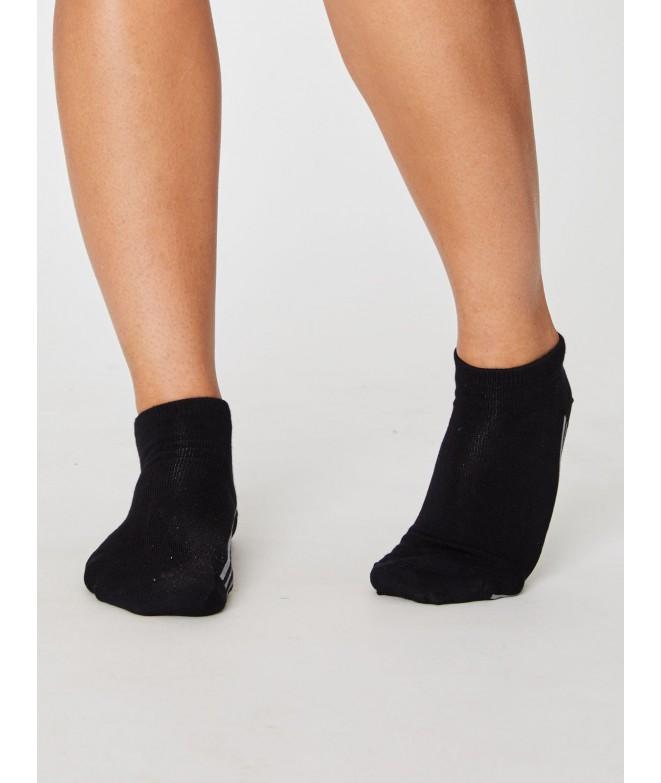 Jane Trainer Black 37-40 dámské kotníkové ponožky
