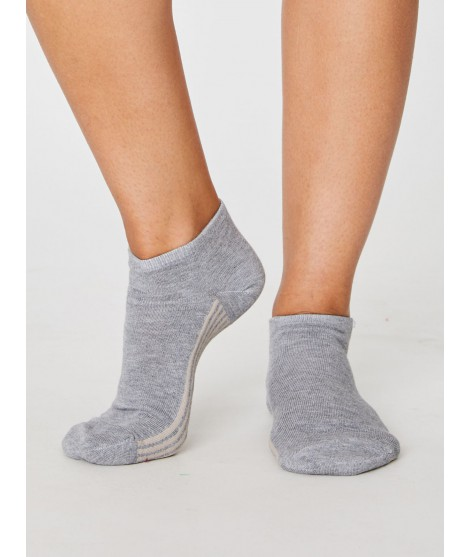 Jane Trainer Grey 37-40 bamboo socks
