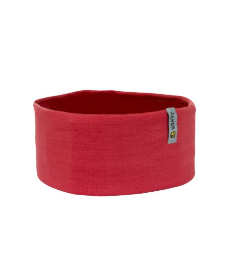 Janus LW Kids merino headband Red