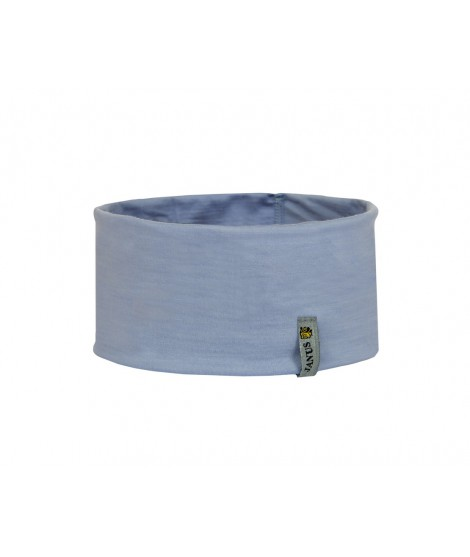 Janus LW Kids merino headband light blue