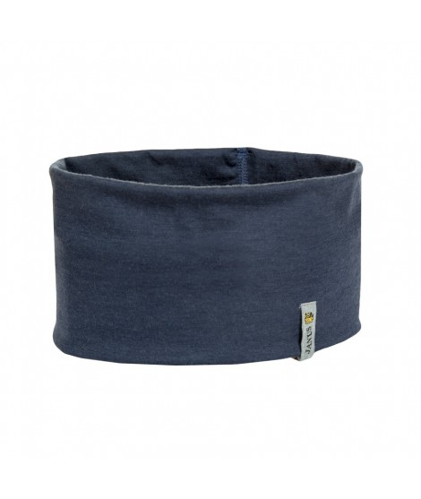 Janus LW Kids merino headband blue