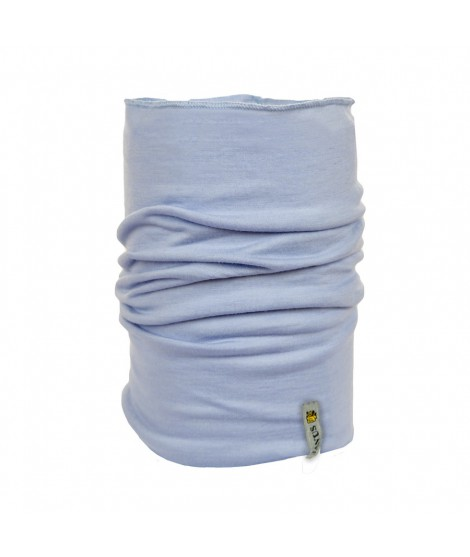 Janus LW Kids merino neckwarmer light blue