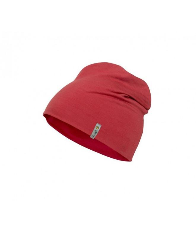 Janus LW dětská merino čepice red