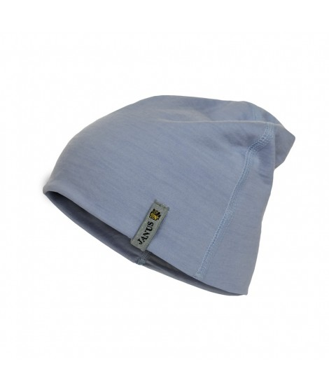 Janus LW Kids merino hat light  blue