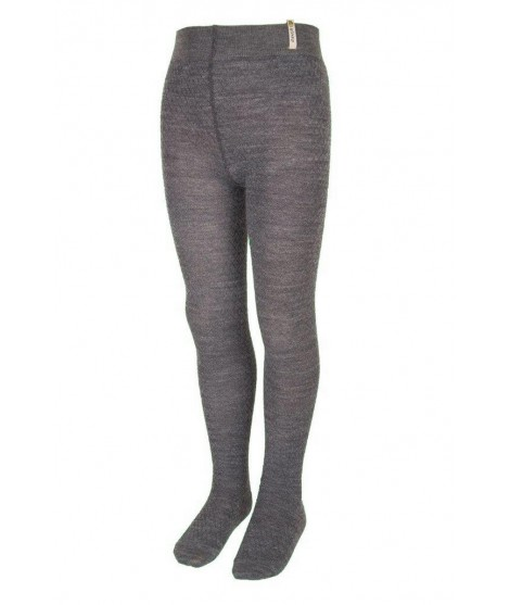 Janus LW kids merino tights grey