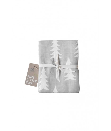 Kids muslin blanket GRAN grey