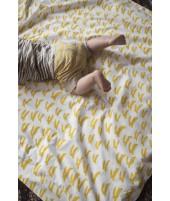 Dětské povlečení Rabbit yellow