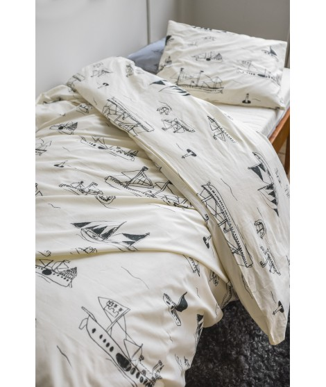 Ložní povlečení Ohoy grey 150x210 bed