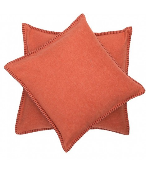 Cotton cushion SYLT terracota