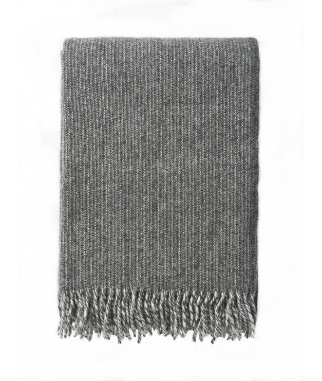 Vlněný pléd Shimmer grey