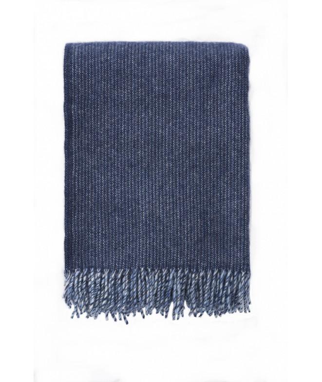 Vlněný pléd Shimmer blue