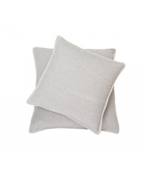 Cotton cushion SYLT light grey