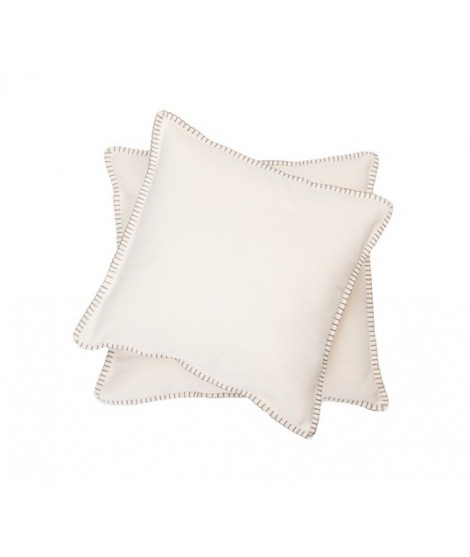 Cotton cushion SYLT offwhite bílý
